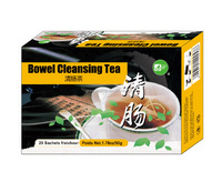 High effect bowel cleansing tea herbal improve bowel digesting tea weight loss tea