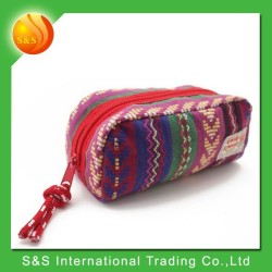 Red classic folk multifunction portable practical pencil case