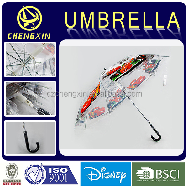 cars promotional advertising transparent POE umbrella