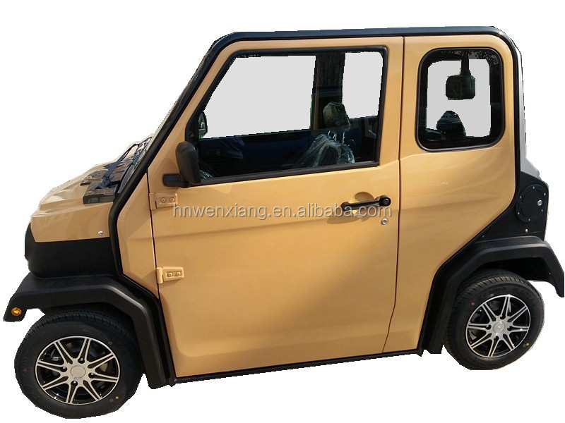 2015 New Chinese 4Kw 180Range 4Seat/Person electric car