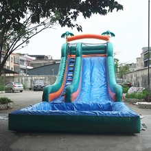 2017 Chinese factory direct selling inflatable pool slide adult size inflatable dry slide giant inflatable water slide for adult