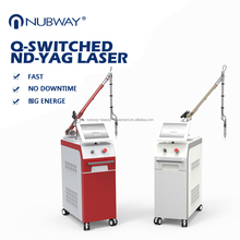 2017 newest 1064nm 532nm nd yag laser pulsed dye laser for tattoo removal vascular and skin rejuvenation