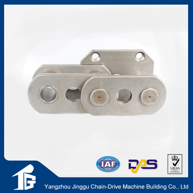 Double Pitch conveyor chains attachments made in China