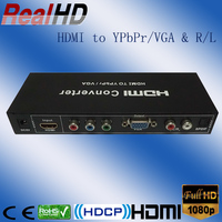 2016 China Hottest coax HDMI to VGA/Ypbpr Converter HDMI Cable