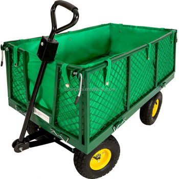 Hot Selling Metal Garden Utility Wagon Cart With Tool Cart Tc4205 ...