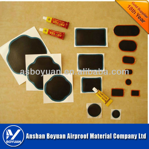 vulcanizing ply radial patch tire repair patch