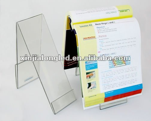 Clear Acrylic Book Holder Acrylic Plastic Book Holder Stand Acrylic Keyboarding Book Stand