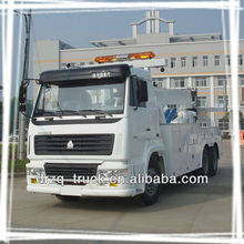 sinotruk heavy automobile recovery truck, 25ton towing wrecker truck