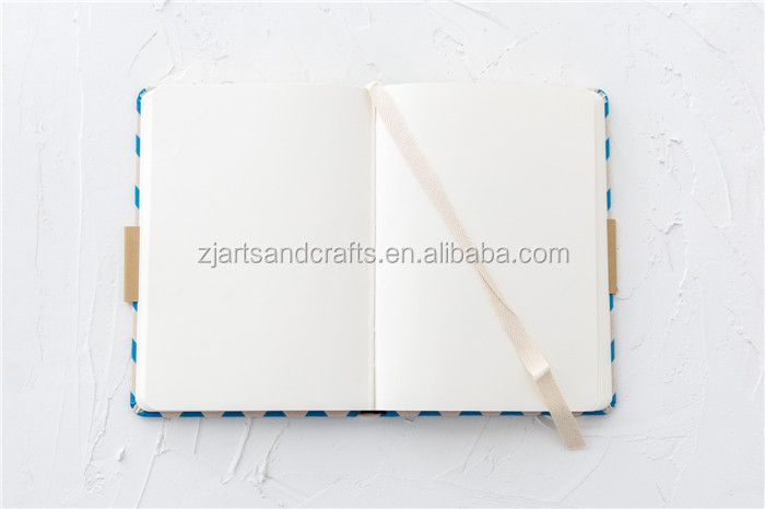 2018 new design fabric cover notebook