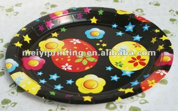 Easter Party Paper Plates