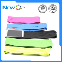 Popular Sale Lycra Waist Bag For Men And Women Unisex Colorful Oem China Factory Running Flip Belt