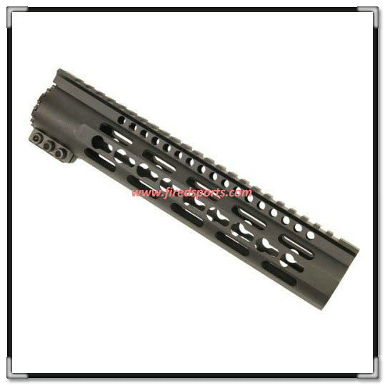 "MTS0124-10--10"" Slim Line keymod handguard Forend mounting rail For AR15 M4 5.56 Cal hunting rifle"