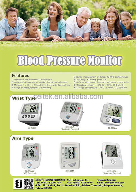 Bluetooth Talking Wrist blood pressure monitor price