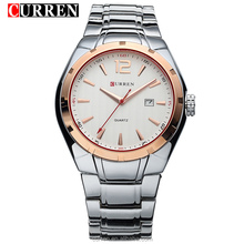 Curren8103 Watch Multifunctional Man Dual Time Japan Movement Wristwatch Waterproof Sport Watch