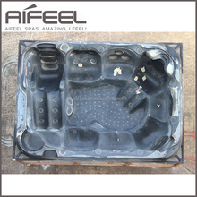 Aifeel whirlpool freestanding outdoor swim spa mould hydrotherapy acrylic hot tub mold