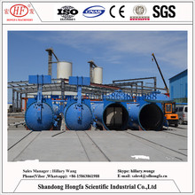 steam-cured Lightweight Cellular Block Making Machine / Aac Aerated Concrete Block Plant / 150000m3 Aac Brick machine