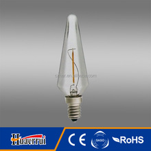 1w g80 dimmable warm white led filament bulb g180
