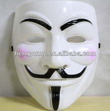 HOT Halloween Masquerade Face Mask V For Vendetta Guy Fawkes Fancy Dress Party Anonymous Masks