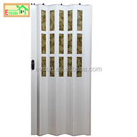 PVC 3 Panel Sliding Shower Door With Glass