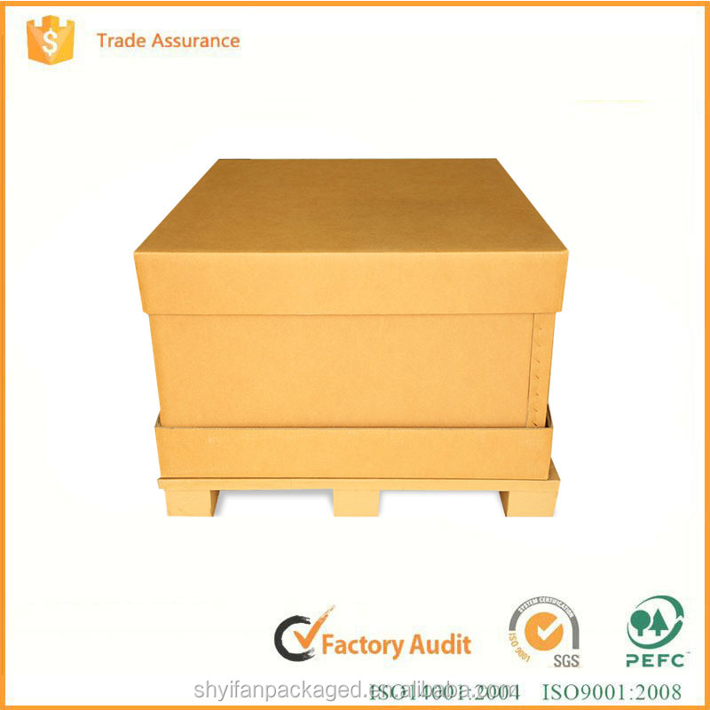 Packing factory recyclable brown heavy duty double wall corrugated cardboard mailing