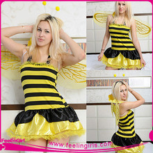 Wholesale Cheap Burlesque Halloween Sex Bee Costume