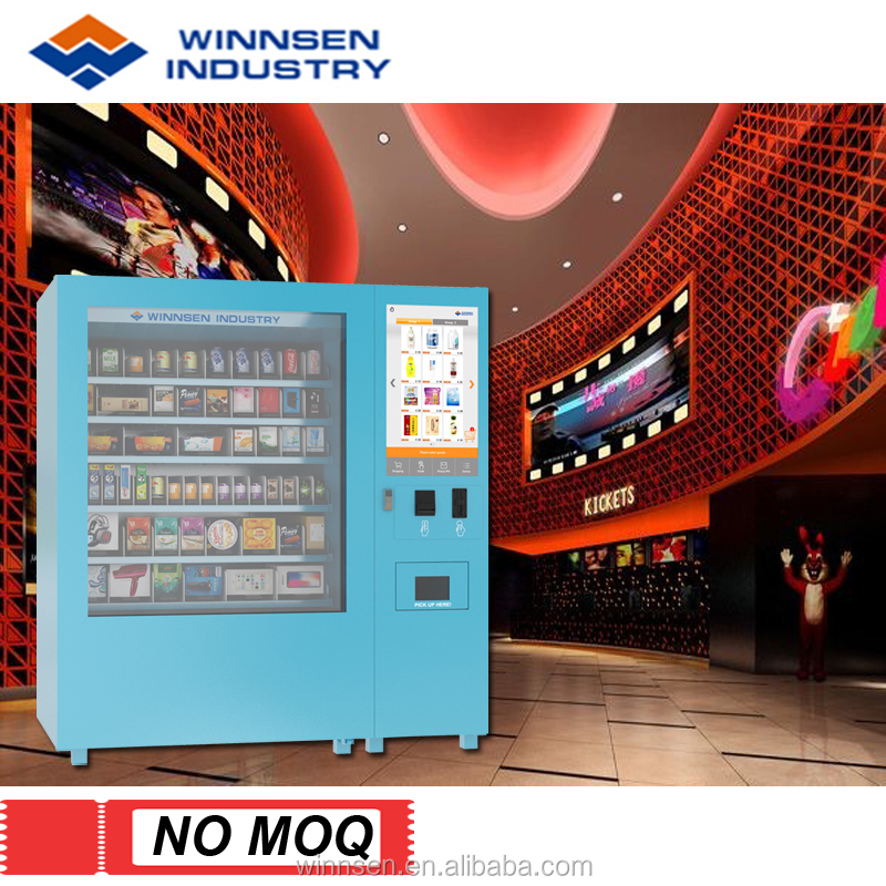Perfume Gift Industrial Mini Mart Vending Machine with 32 Inch Touch Screen