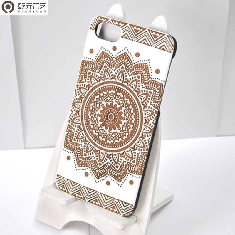 china bulk items factory price laser engraving custom design cell phone wood case