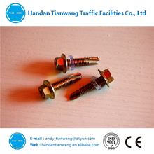 chinese supplier hex head self drilling screw fastener