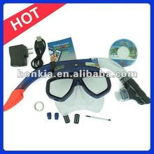 Scuba Diving Equipment,Mask Camera and Snorkel