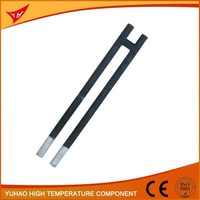 Ceramic Core H type SIC Heating Element ceramic electronic heater rod mini induction heater