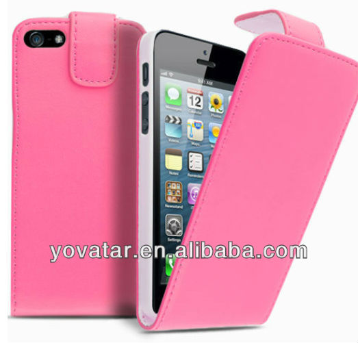 hot!!! for iphone5C 5S flip book leather cover case