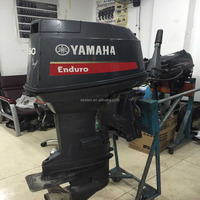 Yamahas used 60hp outboard motor E60HMHD