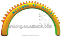 Inflatable Rainbow flower arch/inflatable advertisement item