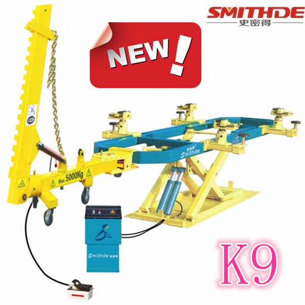 CE ISO K9 auto repair frame machine hydralic working system