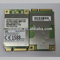 zte mf210 pci wireless network card wcdma module with qualcomm chipset