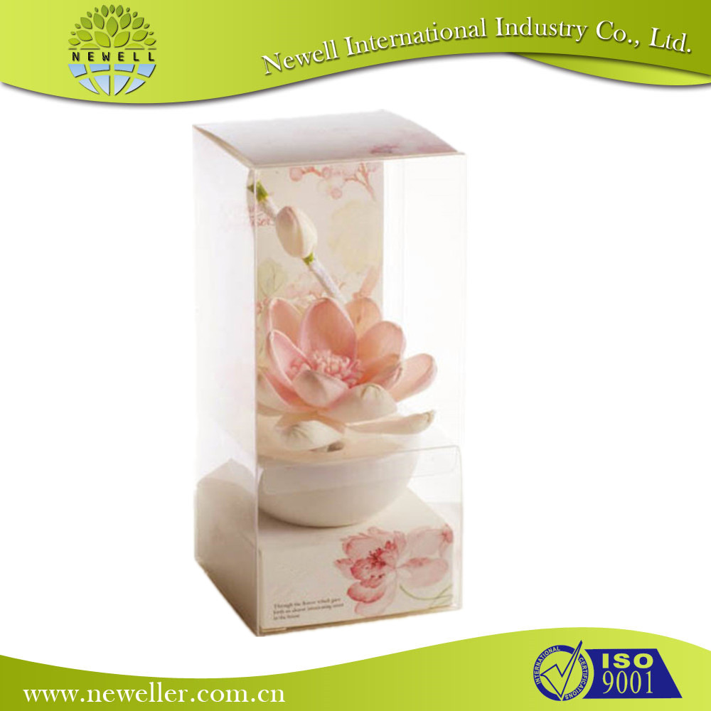 Popular artificial rose flower perfume wholesale