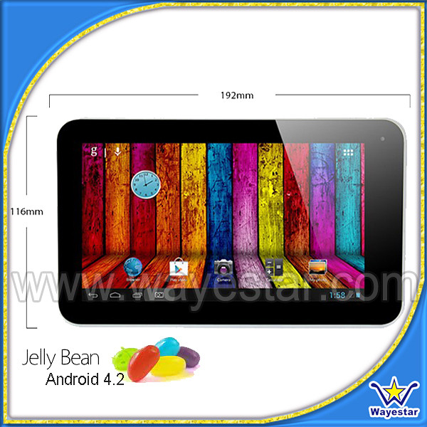 via8880 dual core android 4.2 8GB tablet pc with HDMI,USB