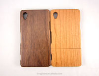 mobile phone wooden case for Sony Z2,wooden cover for sony