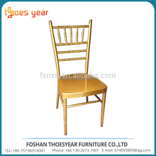 Low price of golden wholesale king chiavari chairs