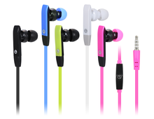 2017 Hot-Selling Wholesale Cheap Clear Sound In-Ear Colorful Headphone 3.5mm Stereo Wired Earphone