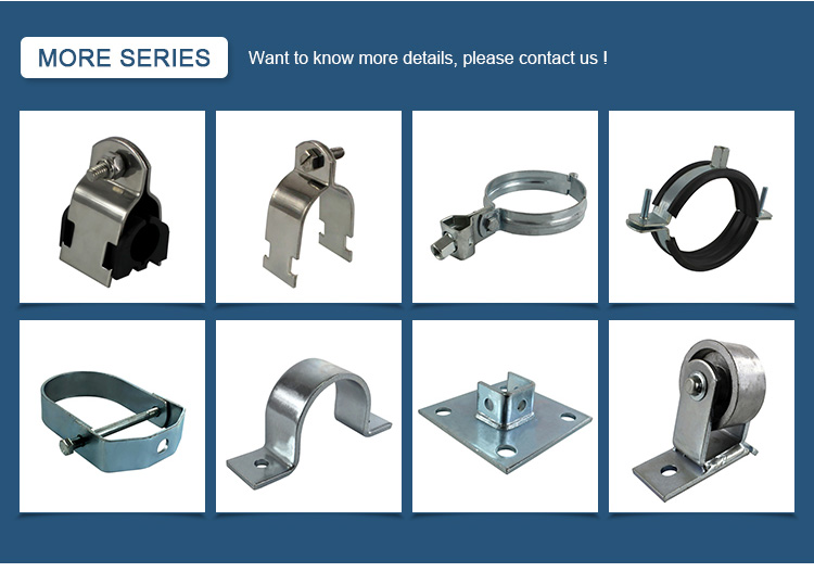 Stainless Steel Hose Beam Clamps