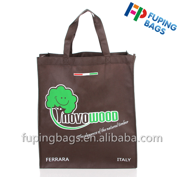 Promotional large duty custom recycle non woven tote bag nonwoven shopping grocery bag