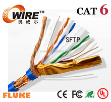 UTP FTP SFTP ethernet cable/cat5e cat6 data cables/flat networking elevator cat5e cable