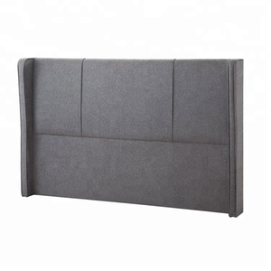 5 star hotel king size bed leather upholstered headboard