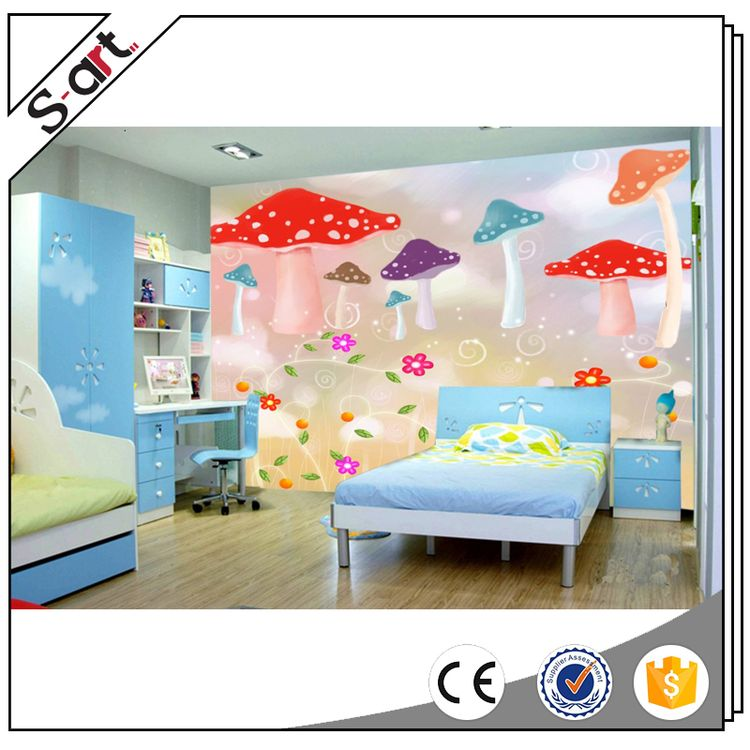 Top quality hot sell kids 3d murals wallpapers
