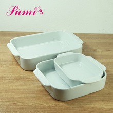 Popular design unbreakable baking dishes microwave oven safe porcelain dishes