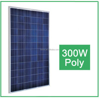 Top Sale ! High Efficiency 300W Poly Solar Panel for Industrial used