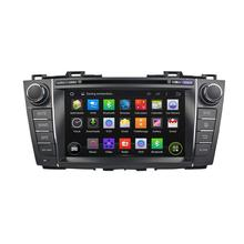 RDS/DAB+/canbus 4 core HD Bluetooth DAB+ dvd gps navigationcar audio system for mazda premacy 2011