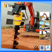 earth hole drilling machine for Foundation Drill