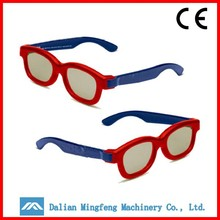 China passive circular polarized cinema 3d glasses on computer